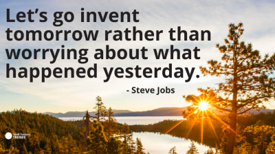 creativity quote steve jobs invent tomorrow