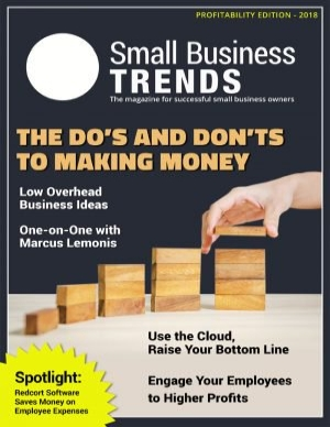 Magazine edition on business profitability