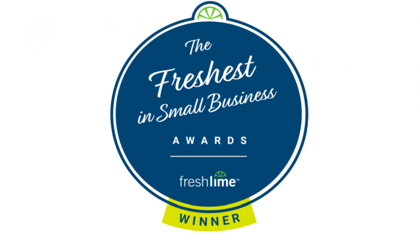 Small Business Trends Wins Freshest in Small Business Award by FreshLime
