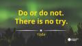 motivational inspirational yoda star wars hard work quote