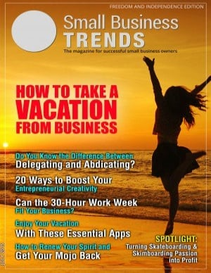 articles on lifestyle freedom and independence in business