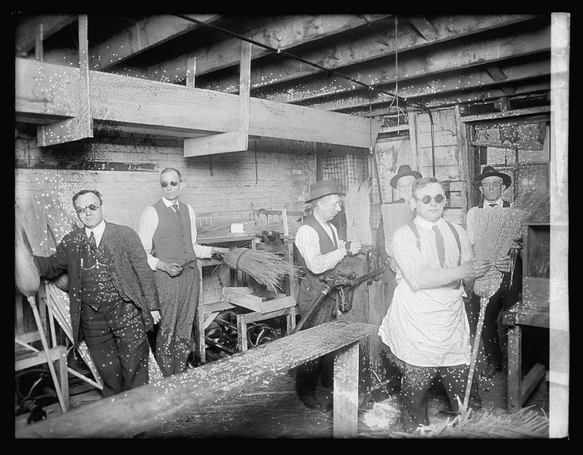 Broom Factory for the Blind
