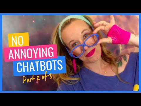 No Annoying Chat bots
