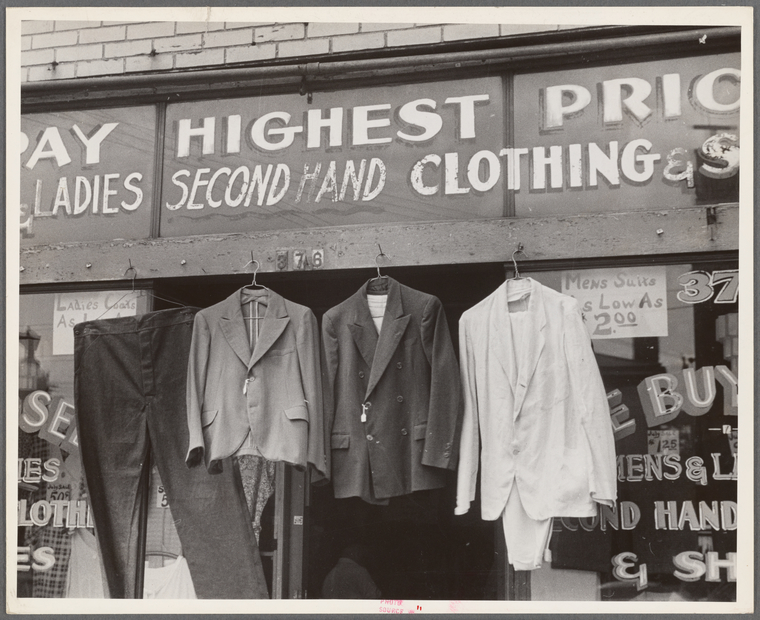 Second Hand Stores