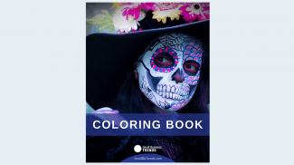 Stress Relief Coloring Book for Halloween