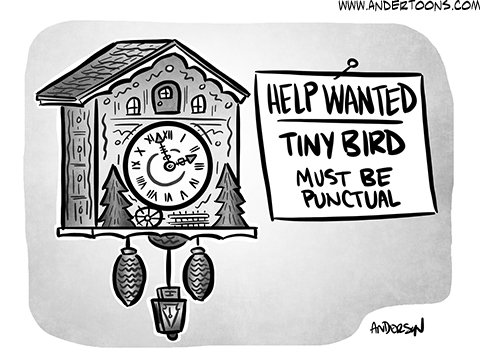 You'd Have to be Cuckoo to Want This Job