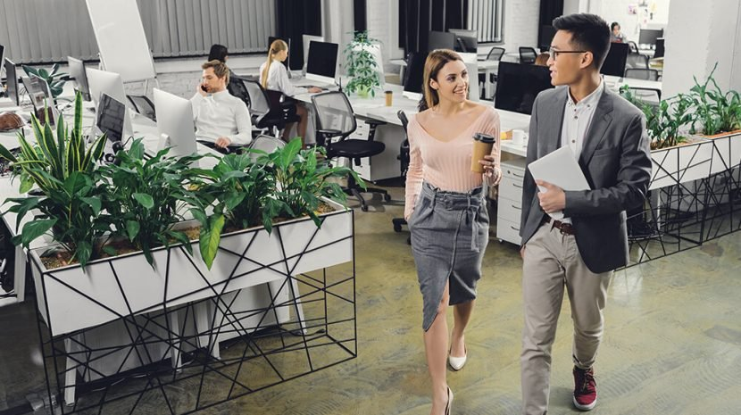 Here are the best office floor plans, according to employees.