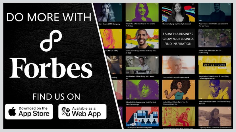 Mentors at Your Fingertips on New Forbes8 App
