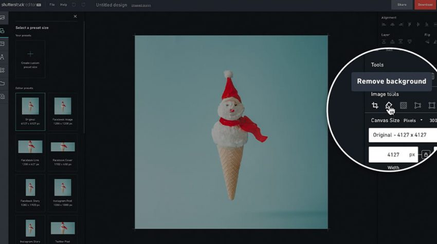 New Shutterstock Background Removal Tool Allows You to Remove Backgrounds from Photos