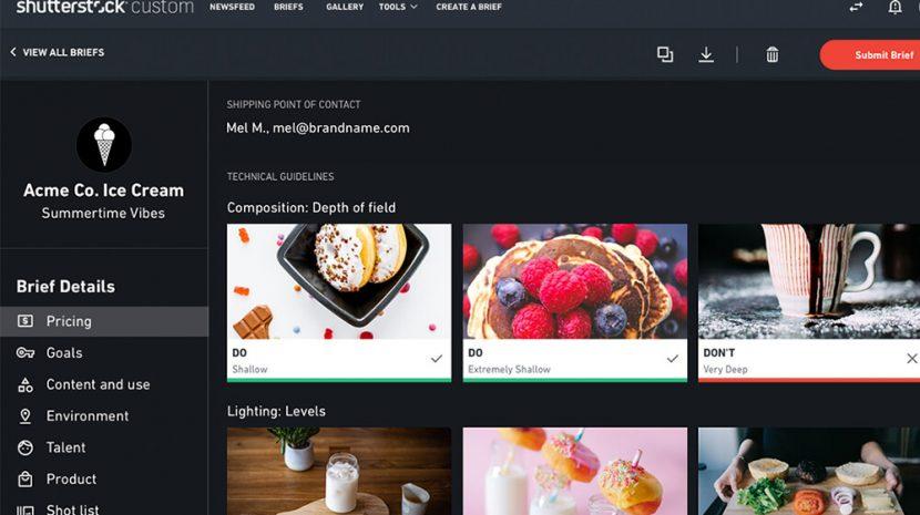 Shutterstock Smart Brief Speeds Up the Process