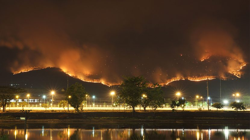 Business Impact of California Wildfires