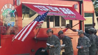 This Hawaii Veteran Entrepreneur Uses His Small Business, Tin Hut BBQ, to Help Displaced Vets