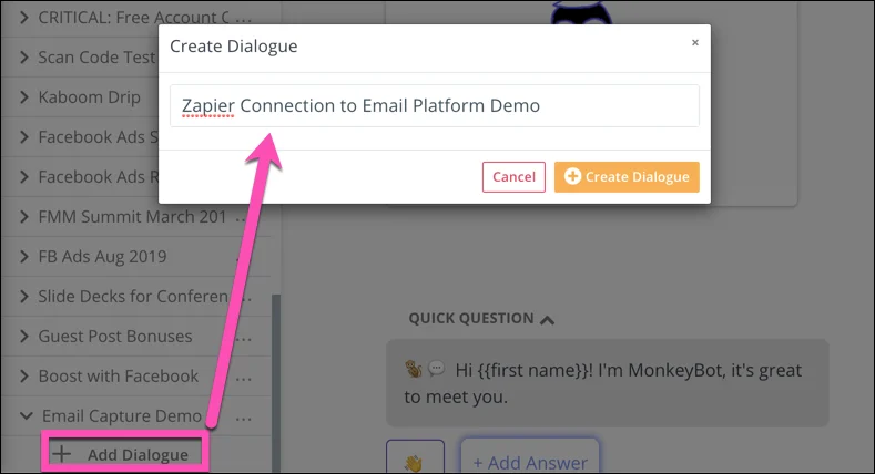 How to Capture Emails With a Chatbot and Automatically Send Emails