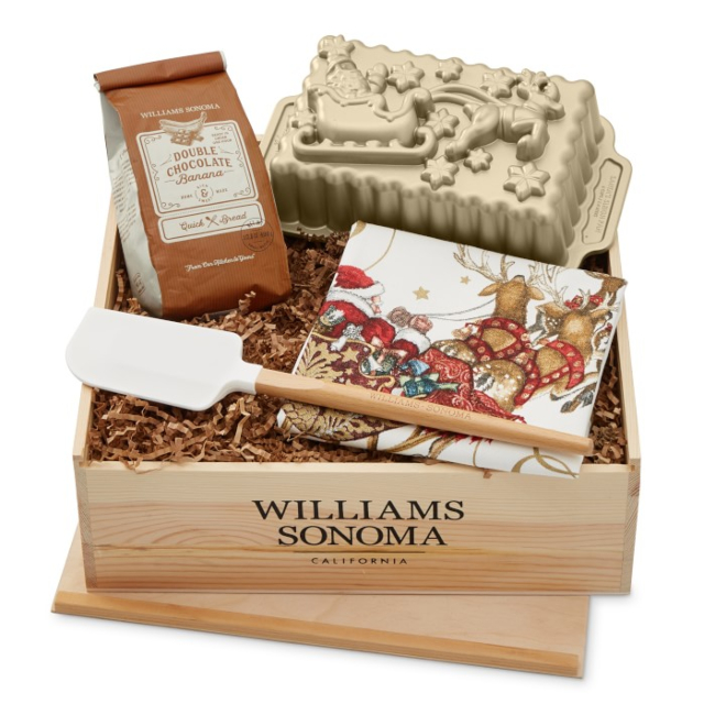 Holiday Baking Gift Crate