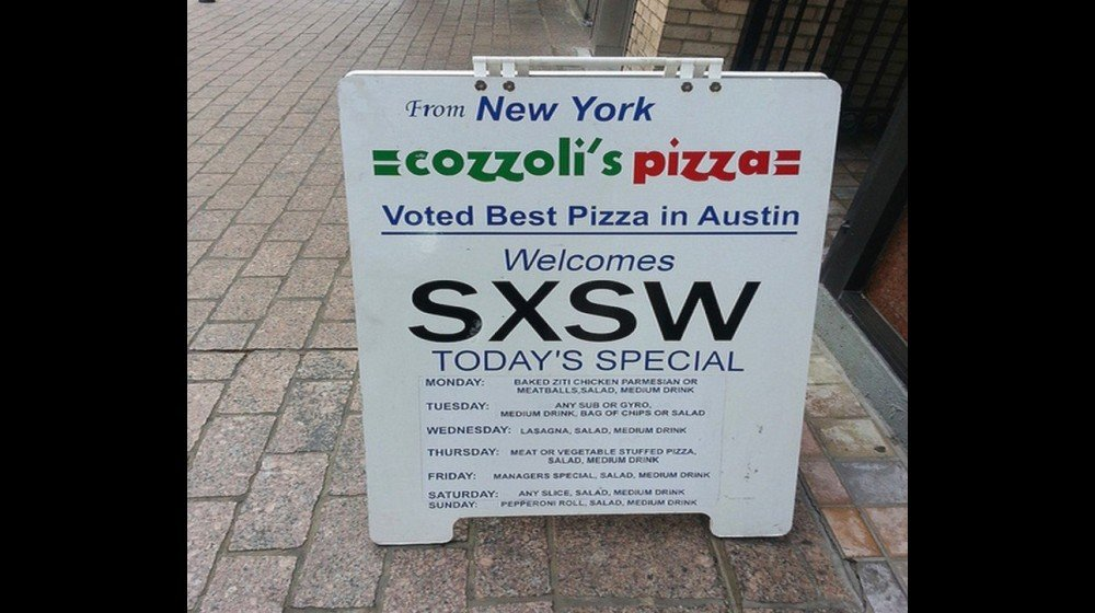 business signs work - example