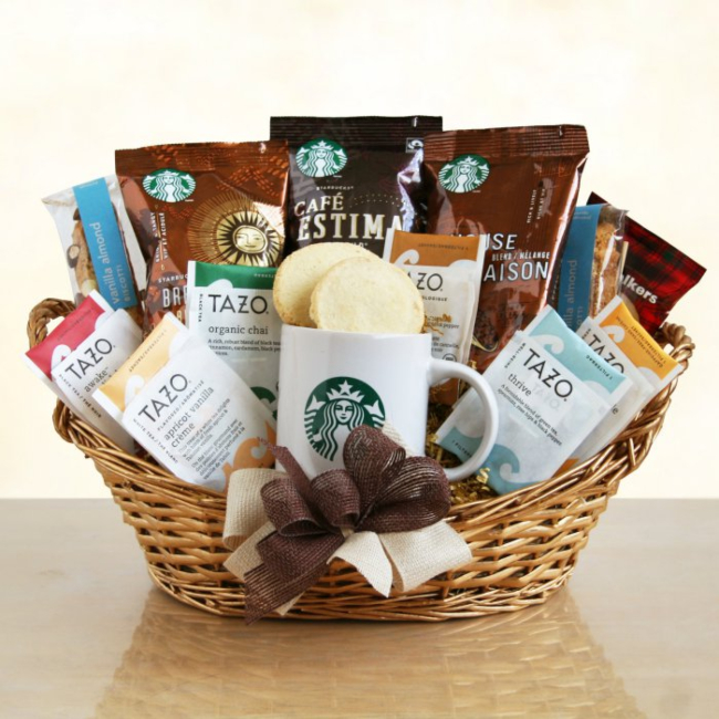 Starbucks Basket