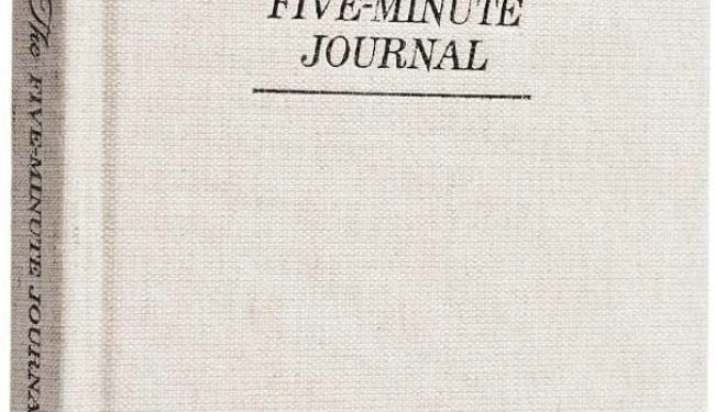 The Five-Minute Journal