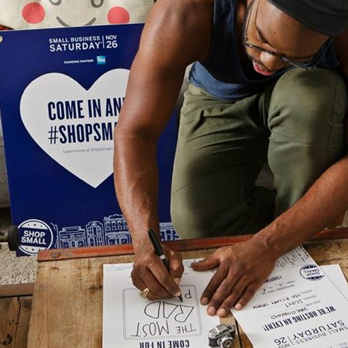 how to market during small business saturday