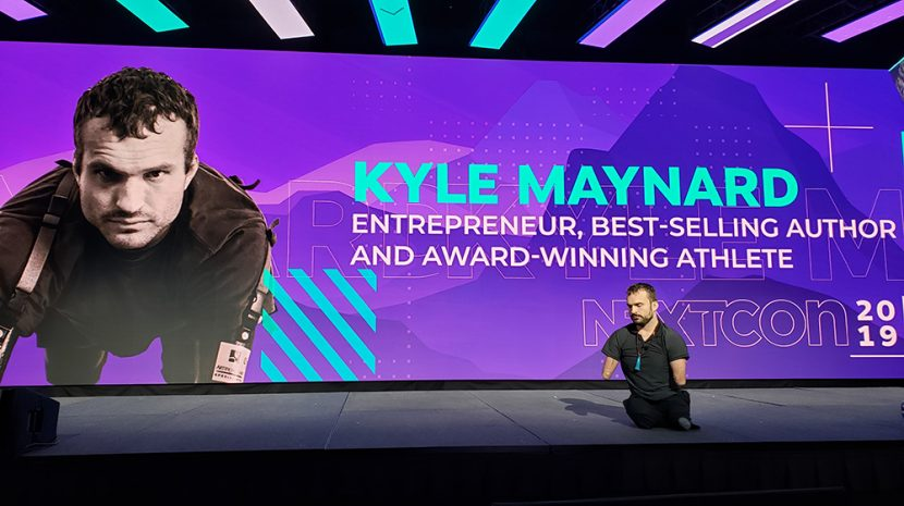 "Kyle Maynard: ""Where the Attention Goes, The Energy Flows"""