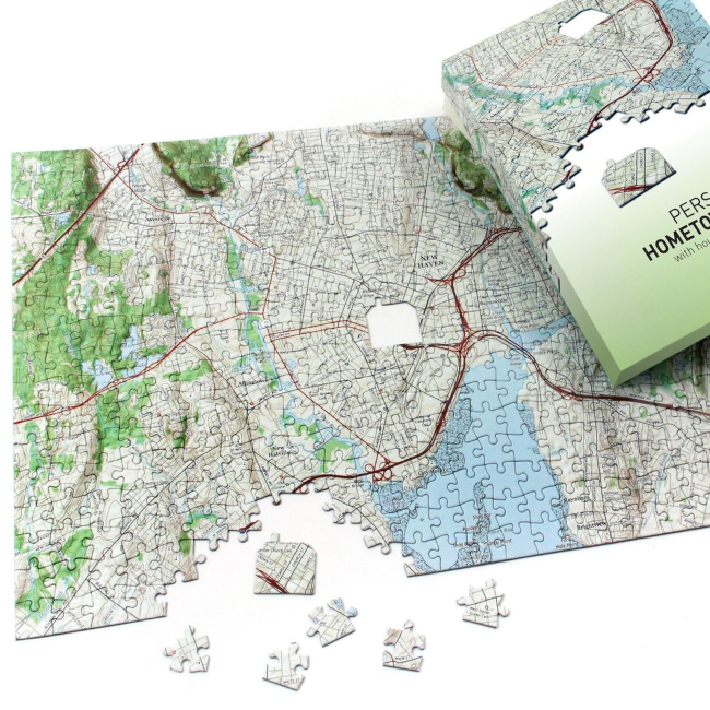 Hometown Personalized Jigsaw Puzzle