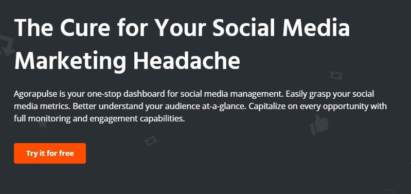 social media management Agorapulse