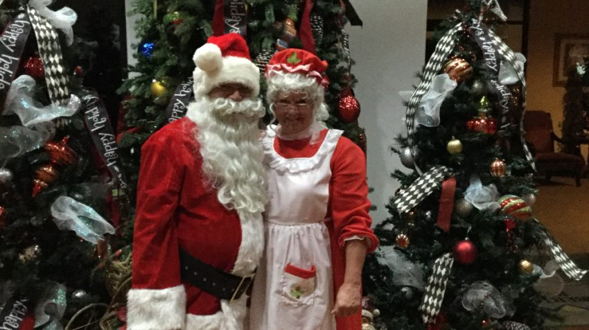 Santa & Mrs. Claus Provide Festive Fun for People of All Ages