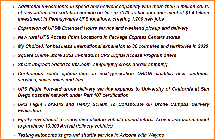 New UPS Products and Services Aimed at Small Businesses