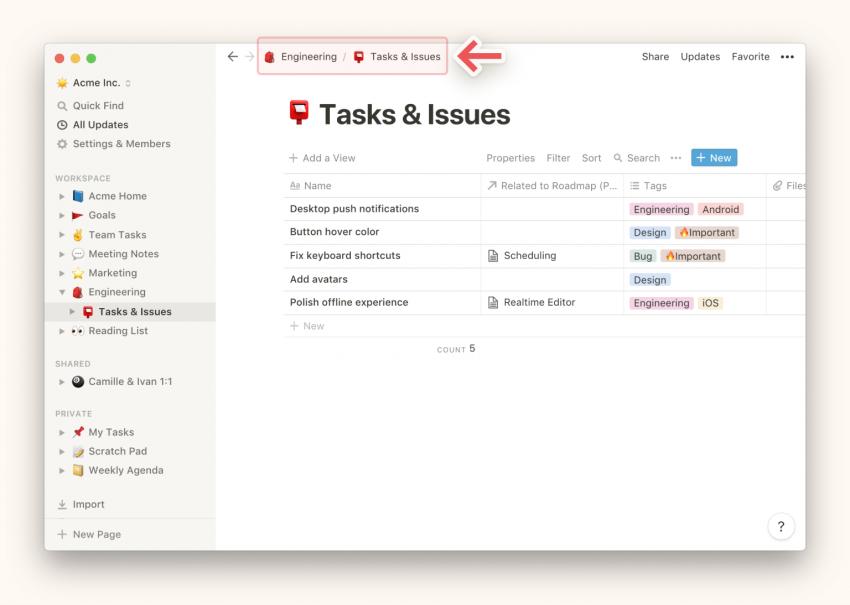 Notion Desktop App Tracks Tasks to Keep Your Productivity Level High