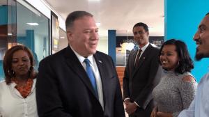 Pompeo Visits Ethiopia