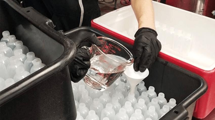 Alcohol Distilleries Making Hand Sanitizer