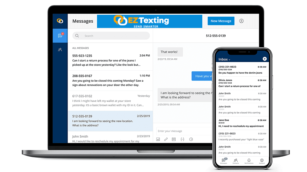 EZ Texting Tries to Take Pain Out of SMS Messages with Customers - Small  Business Trends