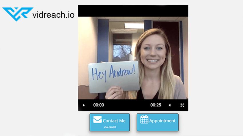 Video Email Marketing App vidReach