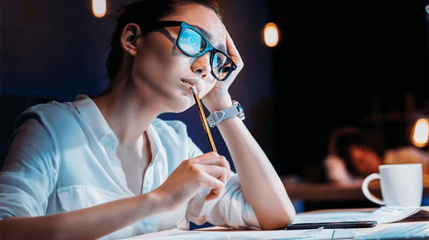 When Entrepreneurs Work Past Their Bedtime