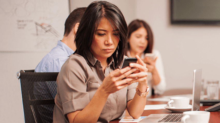 Cell Phone Distractions in the Workplace