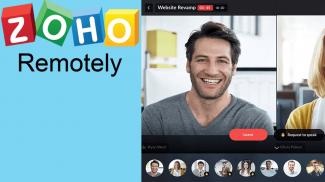 Zoho Remotely