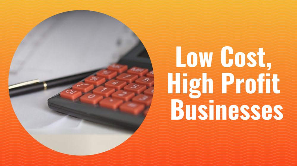 low cost high profit businesses