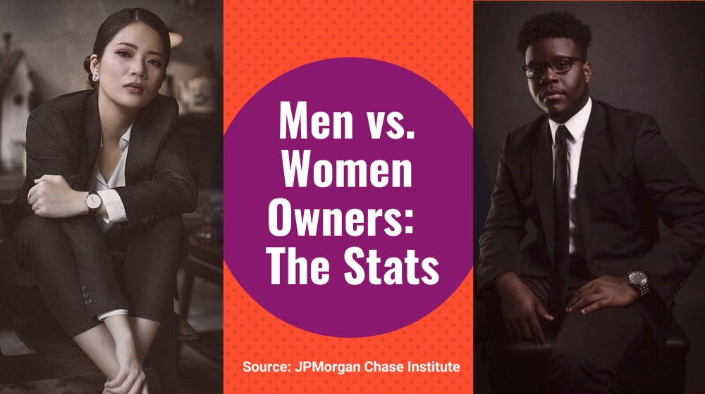 men versus women business onwership