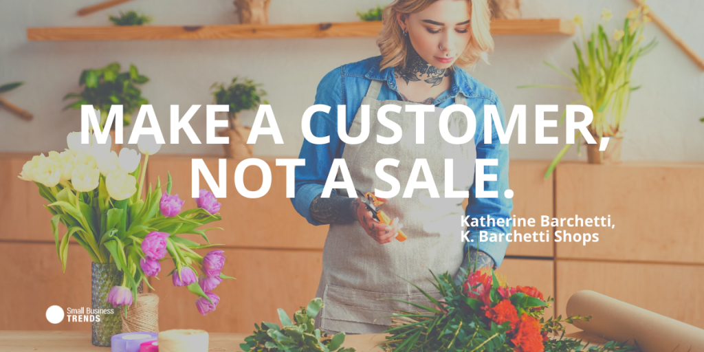 quote about sales