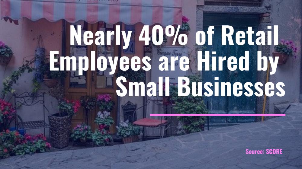 retail employment statistics small business