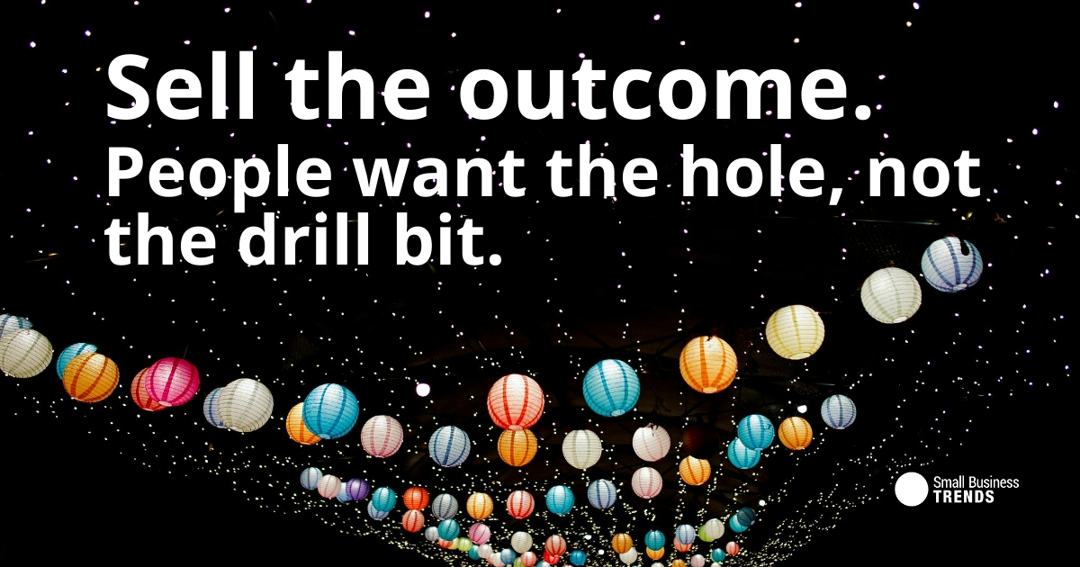 Sell the Outcome Sales Quote