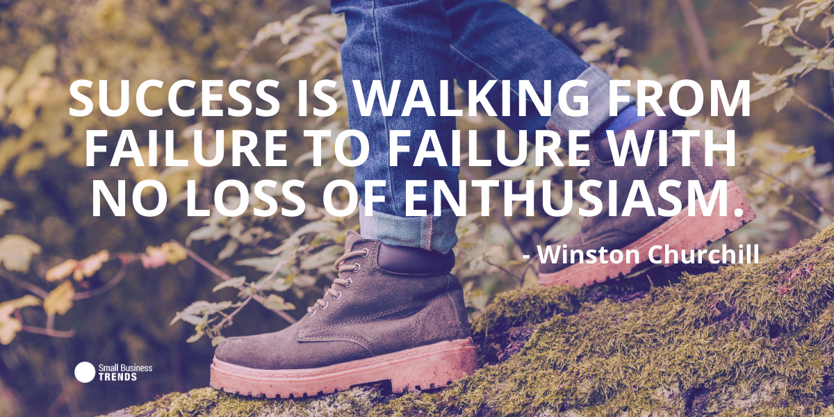 Winston Churchill Failure Quote