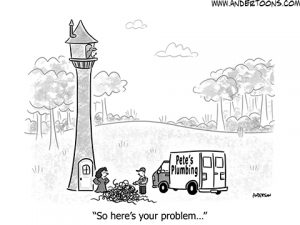business problem cartoon