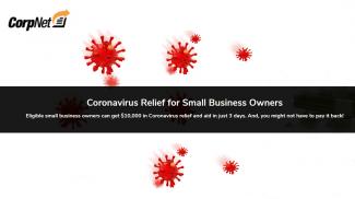 CorpNet Helps Businesses File for Coronavirus Relief