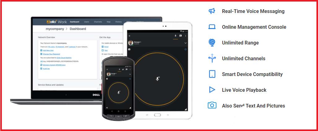 Zello Push-To-Talk App