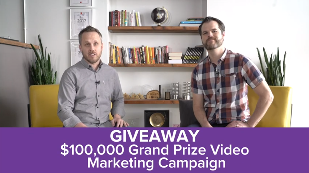 Viral Marketing Agency Giving Away $100K Video Campaign