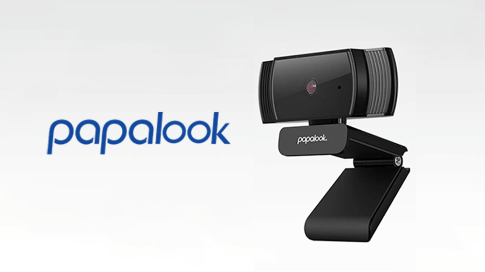 papalook wide angle webcam