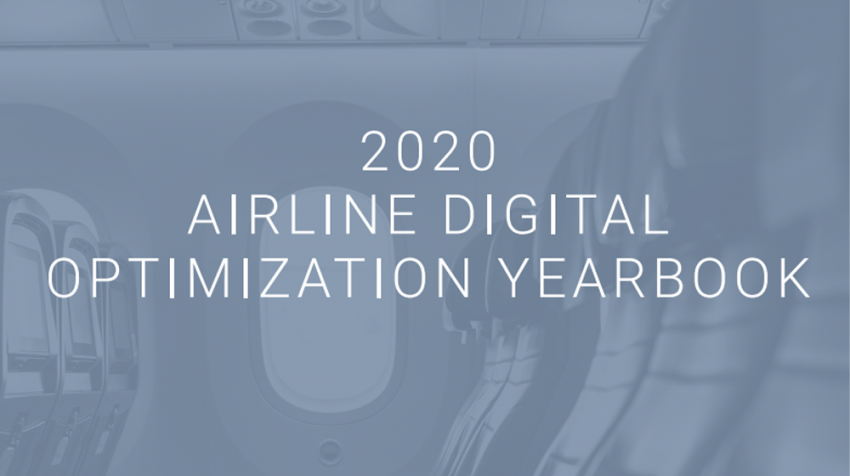 airline digital optimization report