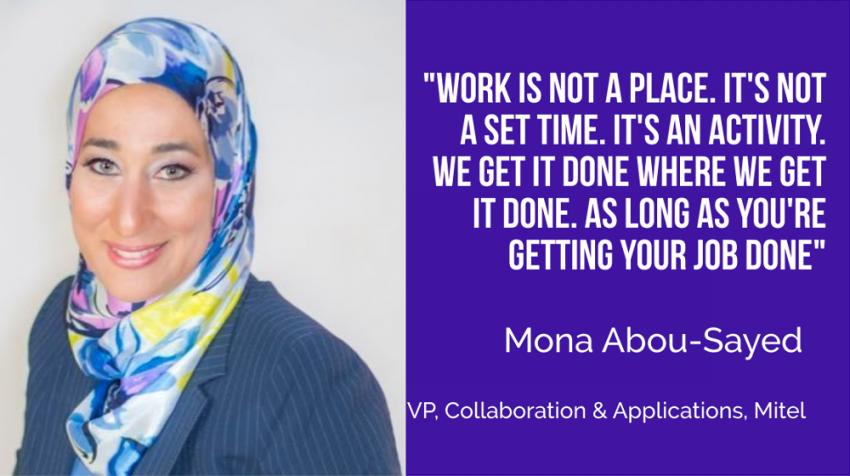 mona abou sayed mitel interview