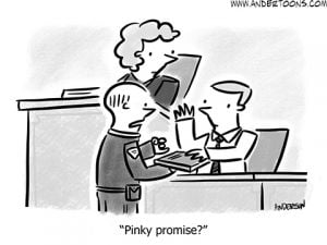 business honesty cartoon
