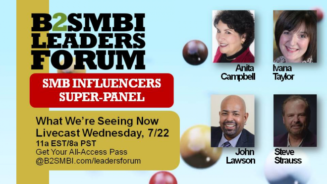 Join us at the B2SMB Leaders' Forum